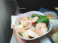 Thai airways meal salad