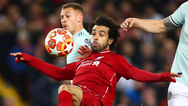 Liverpool Mohamed Salah Vs Bayern Munich