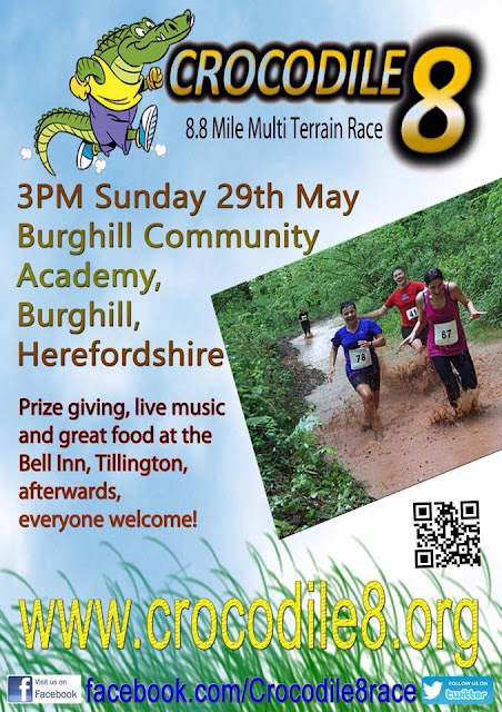 crocodile race 8,Herefordshire