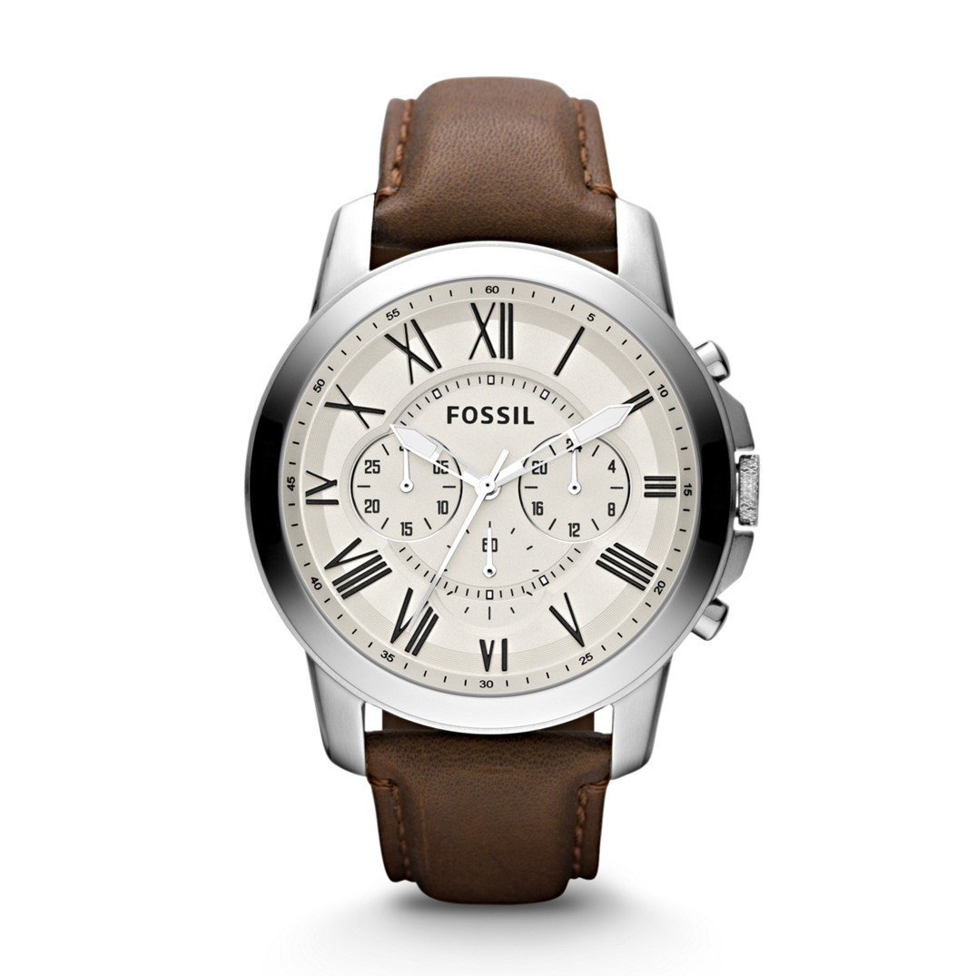 Original Fossil Watches By Geniehour July 2013 Ch2600 Mens Fs4735 Leather Watch Rm49900