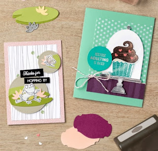 Stampin' Up! Sale-a-Bration Coordination Products + 13 NEW Project Ideas ~ So Hoppy Together ~ Hello Cupcake