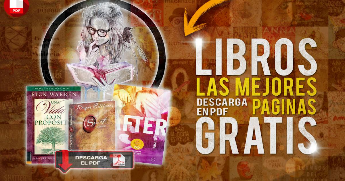 LAS MEJORES PAGINAS PARA DESCARGAR LIBROS EN PDF Gratis