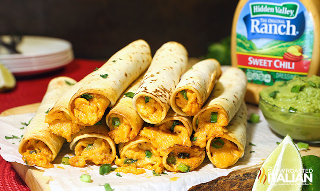 http://theslowroasteditalian-printablerecipe.blogspot.com/2015/06/chili-lime-chicken-taquitos.html