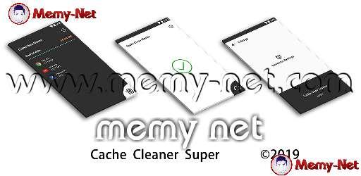 تحميل تطبيق Cache Cleaner Super لتنظيف الهاتف بحجم 3 ميجا