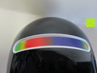 Farbskala: OriGlam® New Touching Schalter, Farbe Bar Design, 256 Farben-Licht-Lampe Atmosphäre Licht mit eingebautem Akku Verwendet als Schreibtischlampe Ambience Licht für Dekoration Weihnachts Yoga (schwarz)
