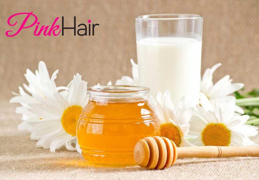 العسل لتنعيم الشعر