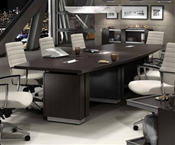 Global Total Office Zira Conference Table and Accord Chairs