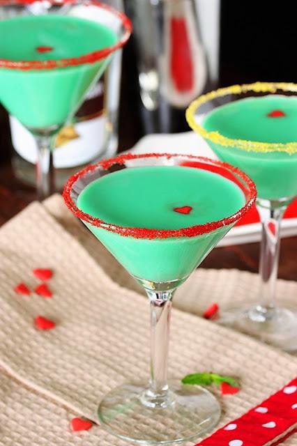 Grinch Grasshopper Cocktail Photo
