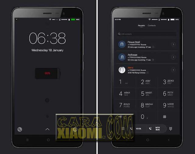 Download MIUI Theme iOS Black