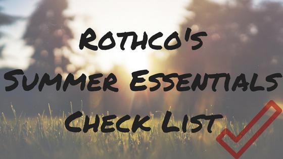 Summer Essentials Checklist