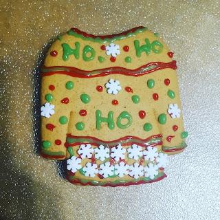 Christmas Jumper Biscuit