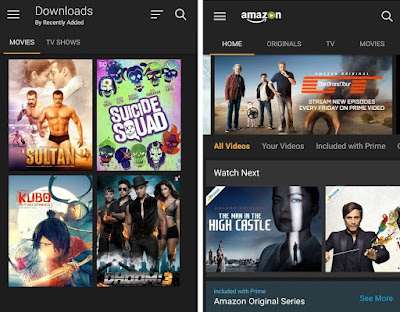 download amazon prime video app for android