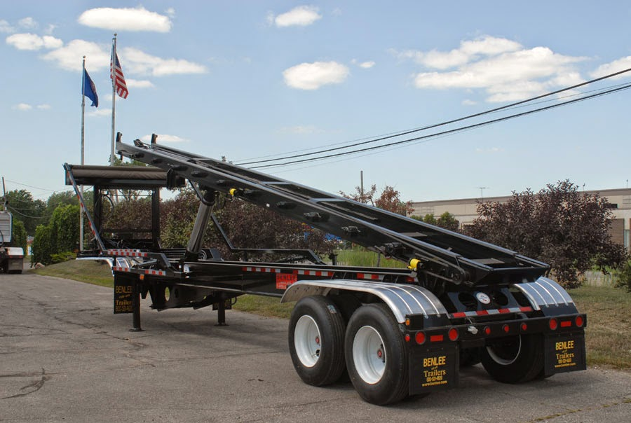 Roll off Trailer for Sale, Benlee www.benlee, 734-722-8100