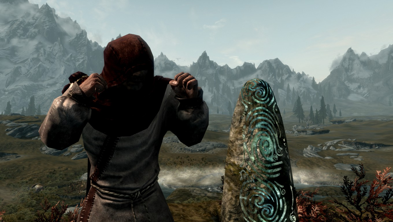 Skyrim Modding Blog: Way of the Monk Lore: The Pillars