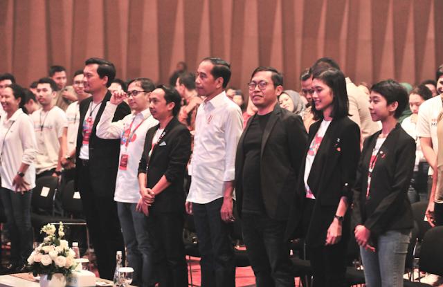 Pesan Kepada Anak-Anak Muda, Presiden Jokowi: Jangan Gampang Mengeluh