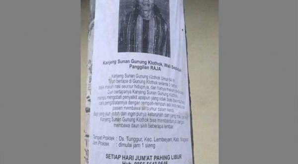 Mengaku Sunan Gunung Klothok Wali Kesepuluh, Pria Ini Menjadi Bulan-Bulanan Netizen