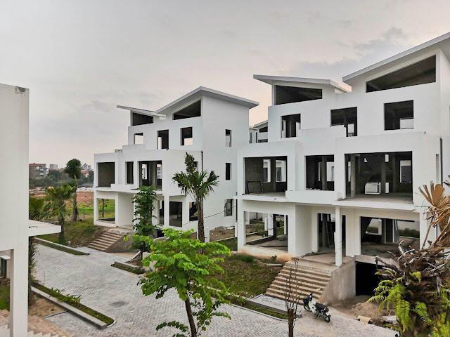 Hình ảnh thực tế biệt thự Khai Sơn Hill