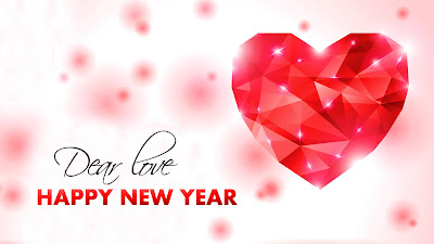 Dear Love Happy New Year 2018 HD Picture Download