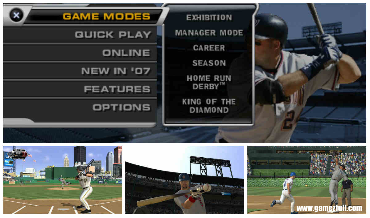 MLB 07 The Show capturas psp