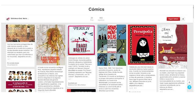 Echa un vistazo a nuestra colección de cómics