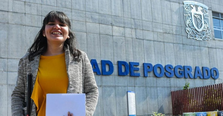 Alumna invidente se titula como maestra en Música en la Universidad Nacional Autónoma de México (UNAM)