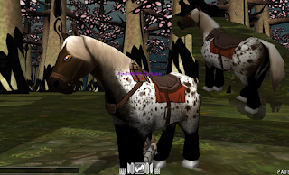 Black Hunter Horse Skin - Attack On Titan Tribute Game