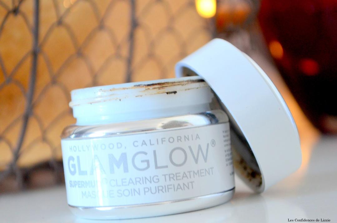 glamglow - masque de beaute - resserer pores - peau purifiee - peau lissee - imperfections - points noirs - peaux mixtes - peaux grasses