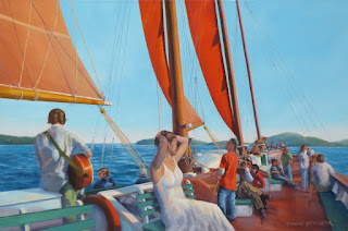 """Sailing On the Margaret Todd"" by Rosemarie Morelli"