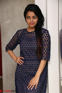 Dazzling Janani Iyer New pics in blue transparent dress spicy Pics 009.jpg
