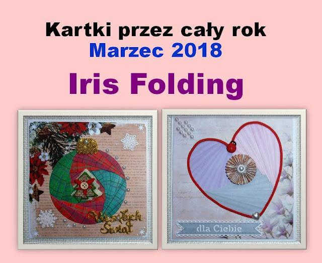 Marzec - iris folding