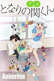 Tonari No Seki-kun - Tonari no Seki-kun: The Master of Killing Time 2014 Poster