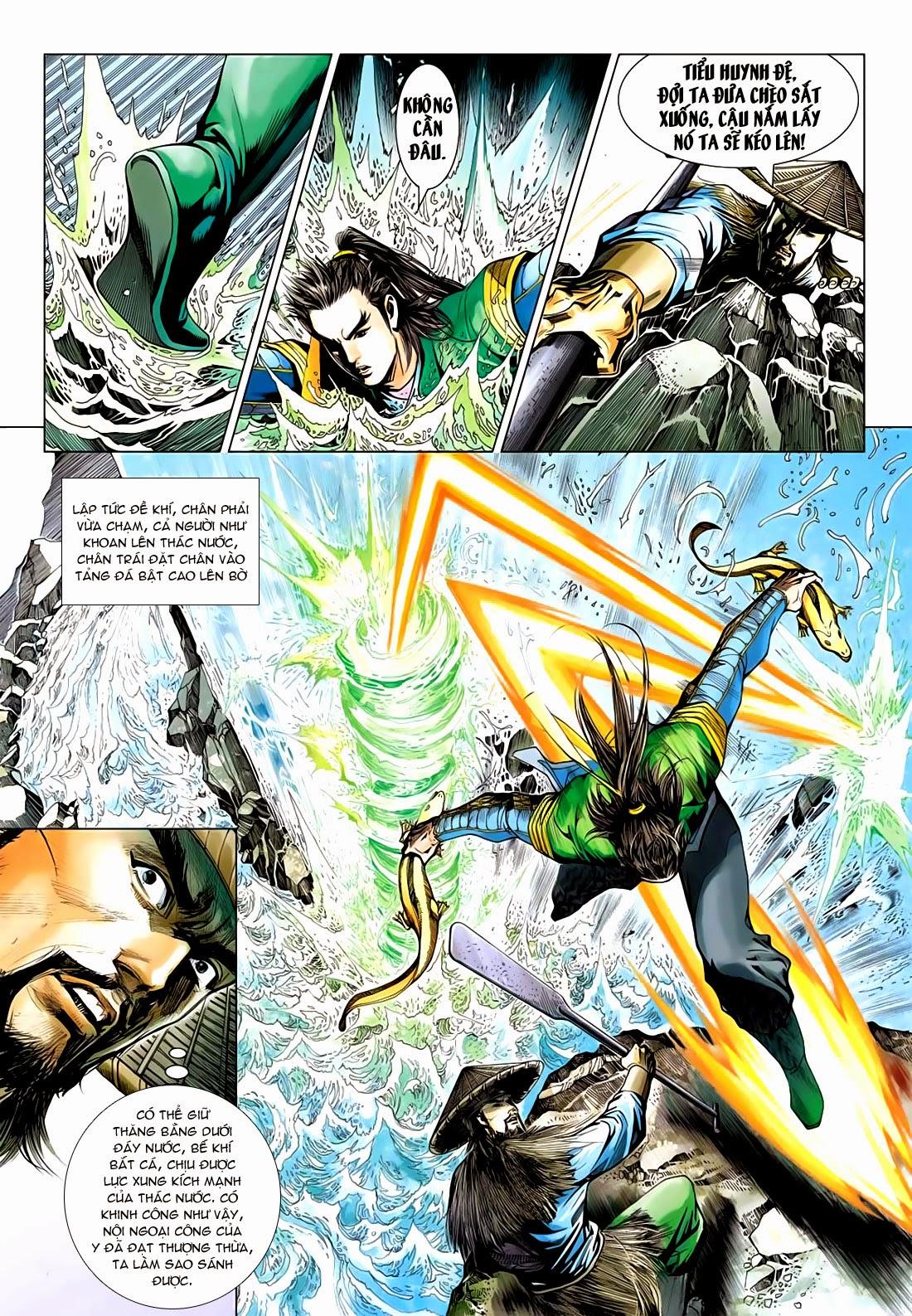 Anh Hùng Xạ Điêu anh hùng xạ đêu chap 72: ngư tiều canh độc trang 9