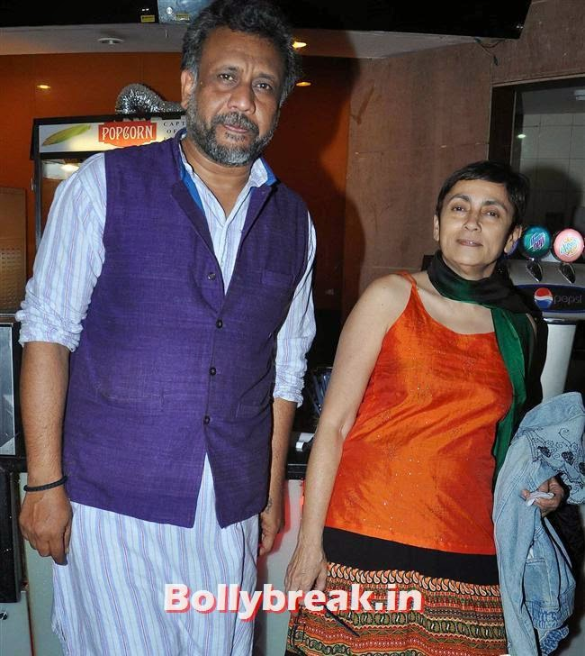 Anubhav Sinha and Deepa Sahi, Ankhon Dekhi Movie Premiere Pics