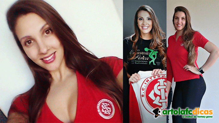 Thanise oliveira no Cartola fc 2015