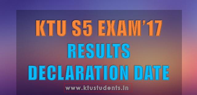 ktu s5 result