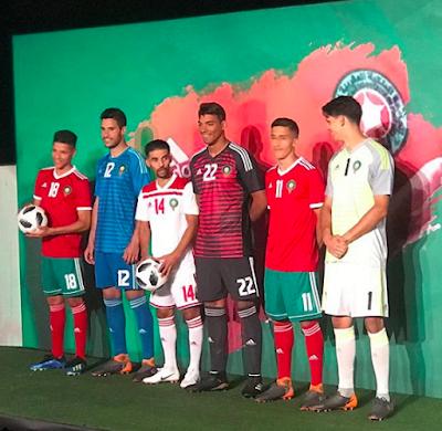 L'équipe nationale révèle enfin son maillot officiel pour la coupe du monde