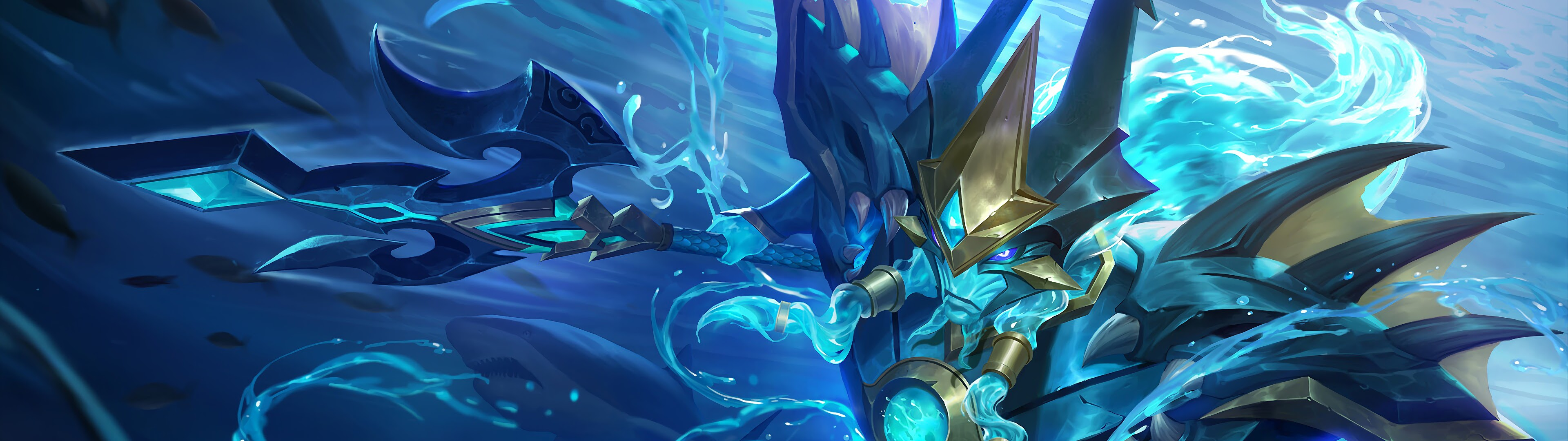 Alpha Sea Gladiator Skin Mobile Legends 4K Wallpaper #37