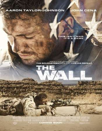 Poster of the Movie The Wall 2017 English 280MB BluRay 480p