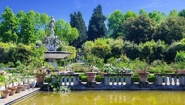 Jardim do Palazzo Pitti em Florença