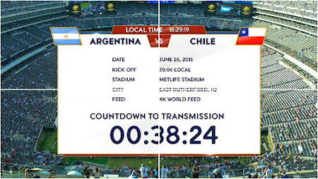 Channel UHD Siaran Langsung Final Copa America 2016