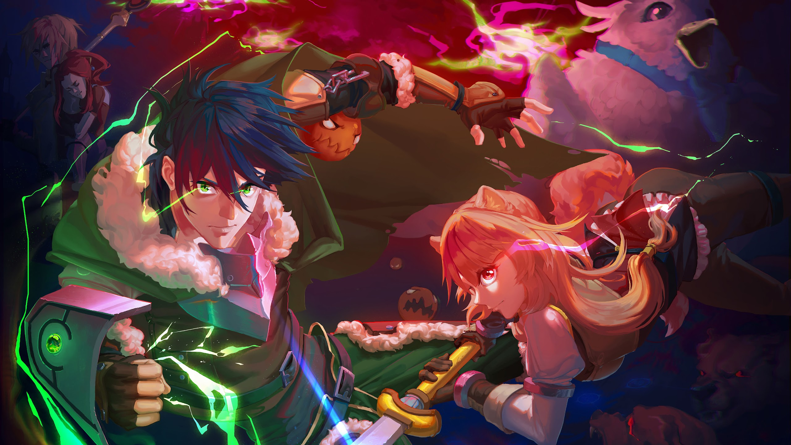 The Rising Of The Shield Hero Wallpaper Iphone - Gambarku