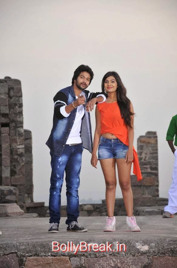 Rahul-The Bells Pics, Actress Neha Deshpande Hot Pics in Denim Shorts from The Bells Movie
