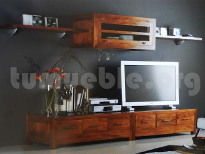 mueble modular en teca 10