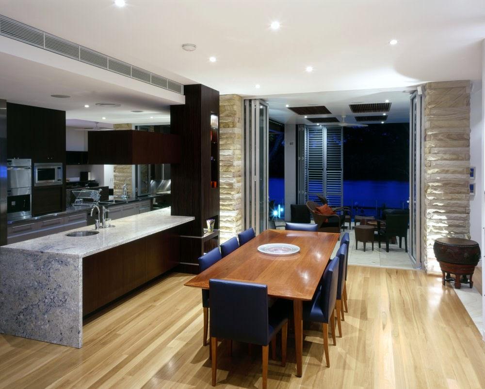 Desain Interior Ruang Makan Dan Dapur Desain Rumah