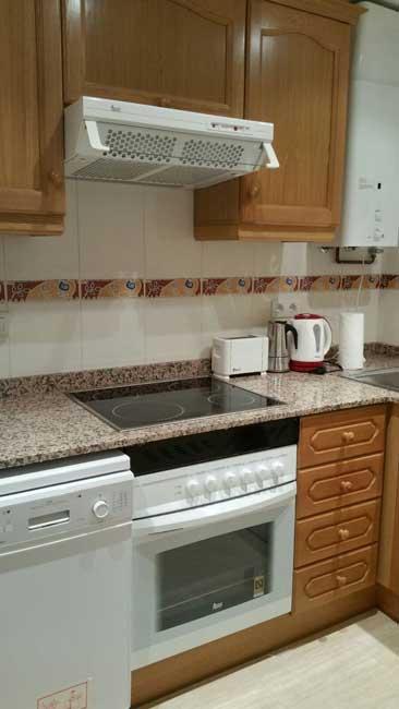 apartamento en venta marina dor oropesa cocina