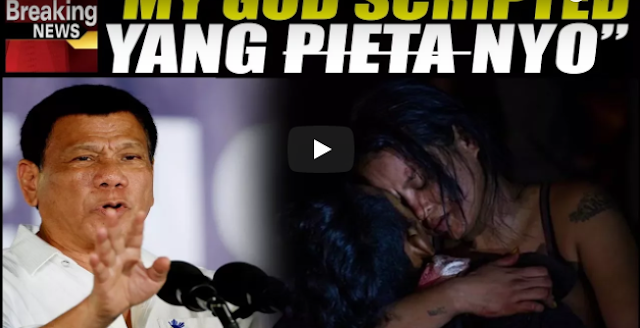 Sab-Wa-Tan Ng Media At Di-La-Wan Sa Scripted Na Pieta!