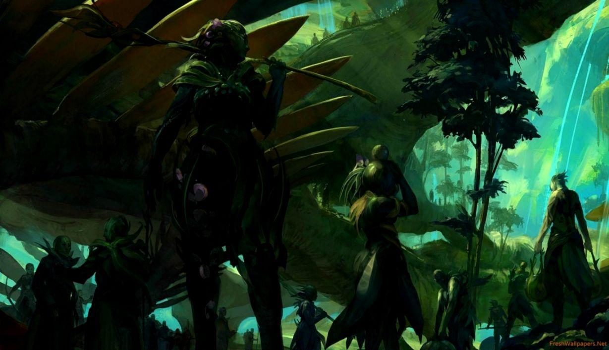 Dreamy Fantasy Guild Wars 2 Video Games Wallpaper Like