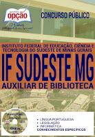 Apostila Concurso IFSudeste MG Auxiliar de Biblioteca.