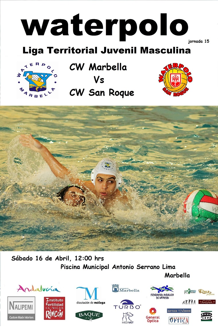 Waterpolo marbella agenda fin de semana for Piscina municipal san roque