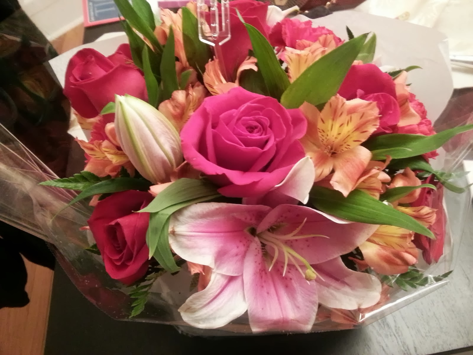 Seren And Craig, The Life: Beautiful Flowers From My Husband